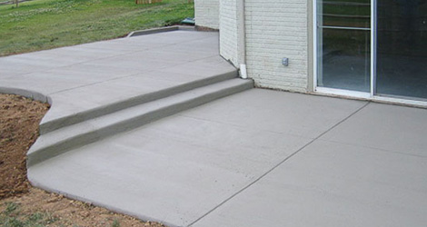 Broom Smooth Concrete Finishing