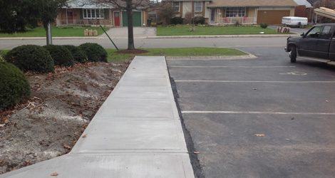 Concrete Walkway Construction & Repair